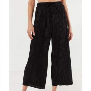 SILENCE & NOISE accordion pleated culottes pants M